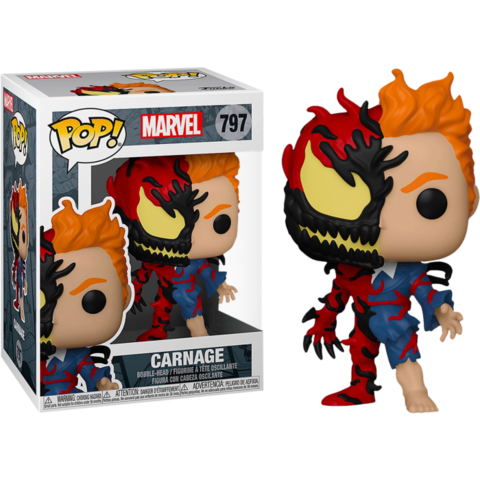 Фигурка Funko Pop! Marvel: Spider-Man - Carnage (Excl. to Hot Topic)