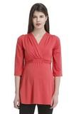 Туника для беременных 07145 красный