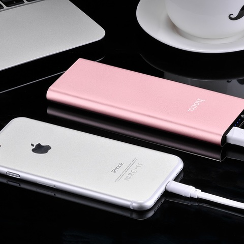 Power Bank HOCO B16-10000 Metal surface