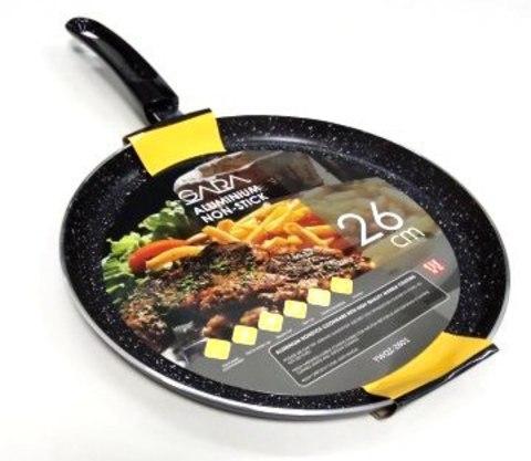 Сковорода мрамор TOWAIE-2601 блинная,YWOZ  26cm