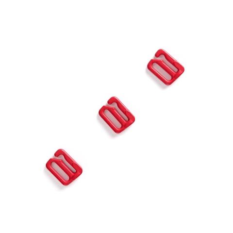 Крючок для бретели красный 10 мм (цв. 100)