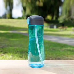 Бутылка для воды с трубочкой Sistema