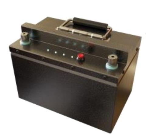 Аккумулятор 12V 104Ah Защищённый корпус нержавеющая сталь