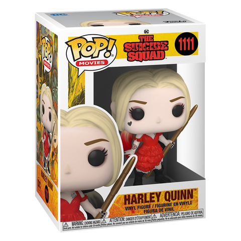 Фигурка Funko POP! Movies The Suicide Squad Harley (Damaged Dress) 56016