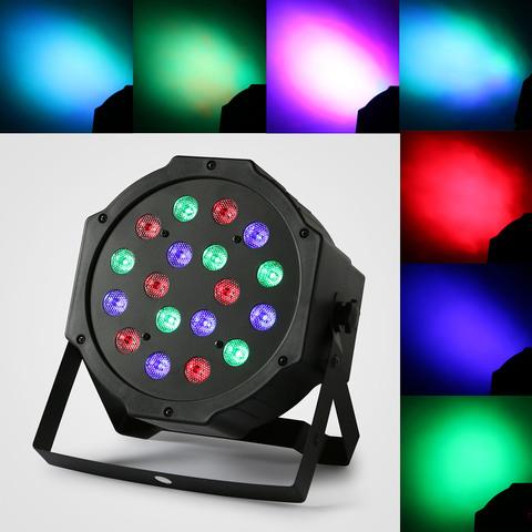 Прожектор светодиодный  18LED 25 Вт RGB