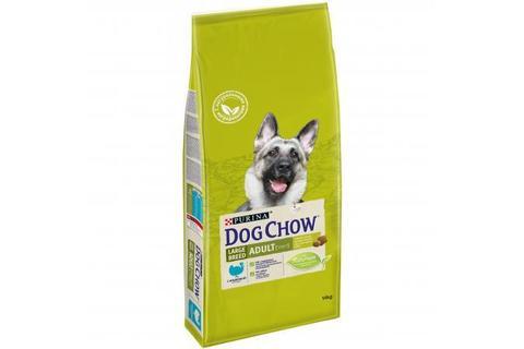 Сухой корм Purina Dog Chow для взрослых собак крупных пород, индейка