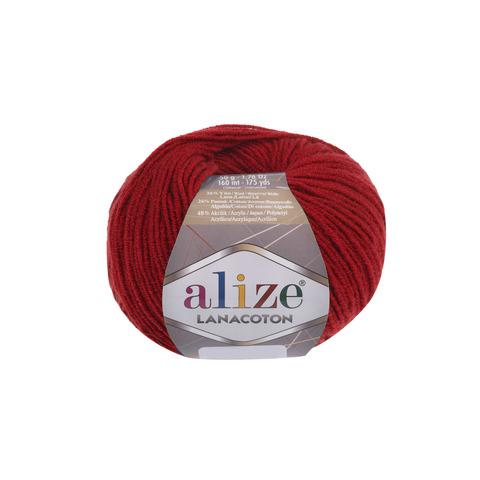 Купить Пряжа Alize Lanacoton Код цвета 056 | Интернет-магазин пряжи «Пряха»