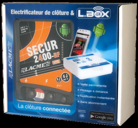 Электропастух Secur 2400 RF HTE Lacme с управлением со смартфона,фото