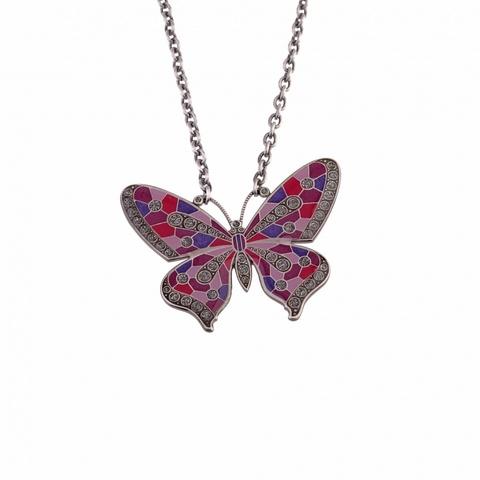 Колье бабочка B28141.31.CM V