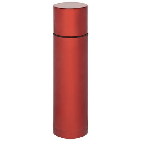 Hotwell 750 Vacuum Flask, red