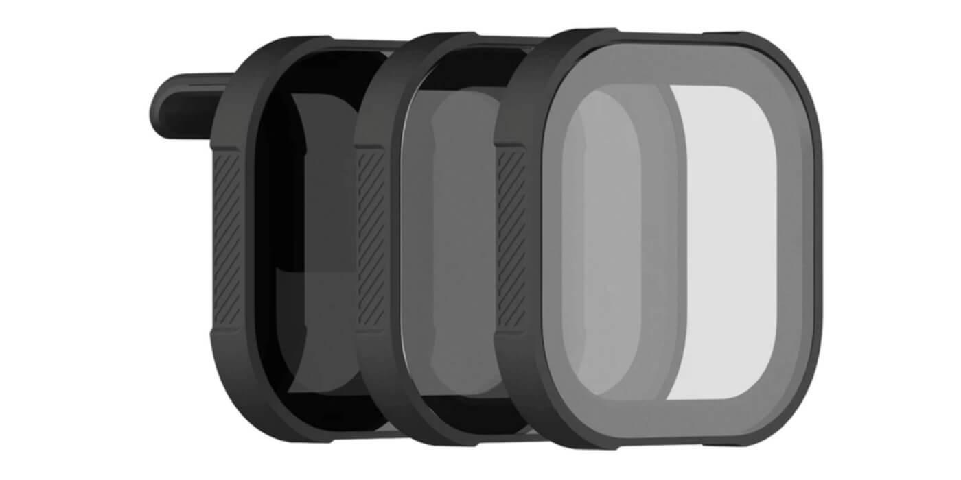 Набор фильтров PolarPro SHUTTER для HERO8 Black внешний вид