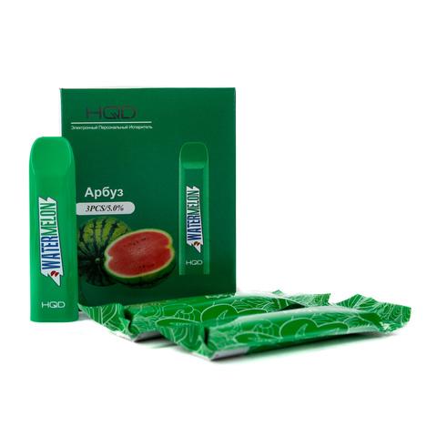 Одноразовая электронная сигарета HQD V2 Watermelon (Арбуз)