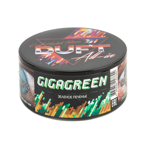 Табак Duft All-in GigaGreen (Зеленое Печенье) 25 г