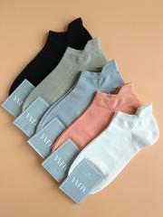 Носки женские с сетчатой вставкой (10 пар) арт.СС2046