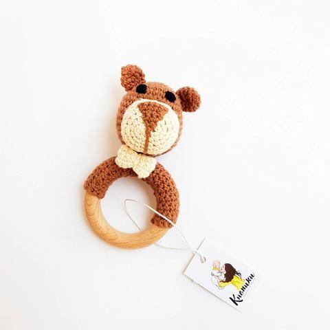 Погремушка-грызунок Мишка