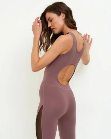 Комбинезон для йоги Black skin