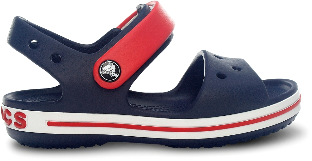Детские сандалии Crocs Crocband Sandal Kids Navy Red