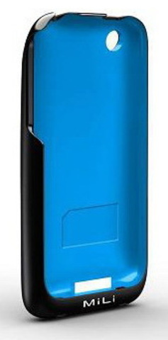 MiLi Power Skin (HI-C20) – дополнительный аккумулятор для iPhone 3G(S) (B-Blue)