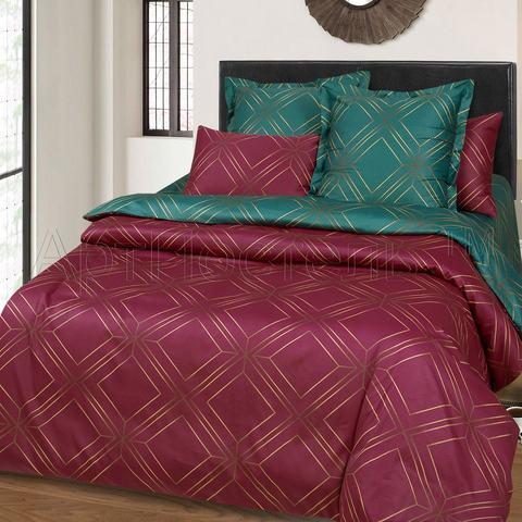 Комплект постельного белья 1,5 спальный Сатин Шарль