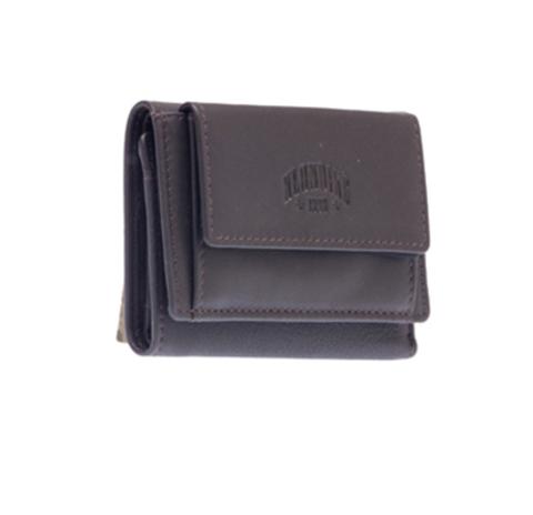 Мини-бумажник коричневый KLONDIKE Claim KD1108-03