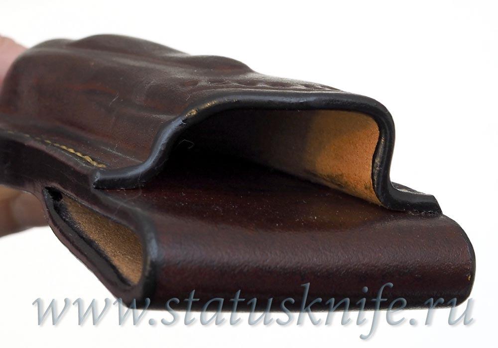 Чехол кожаный коричневый ZT 0454 - фотография