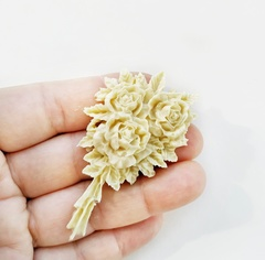 0554 Молд силиконовый Букет роз