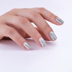 Гель-лак MIX 100 Silver Holographic Shimmer, 6 мл