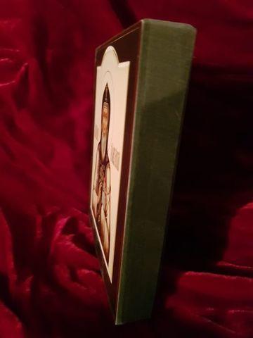 Икона Святой Олег Брянский на дереве на левкасе (поясной) мастерская Иконный Дом