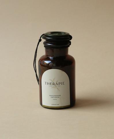 Зелёный чай - «Пропаренный чай Сенча» малая стеклянная склянка