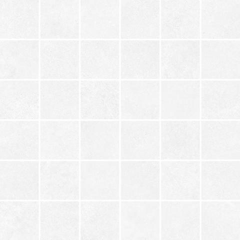 Мозаика CEMENT белый 300х300