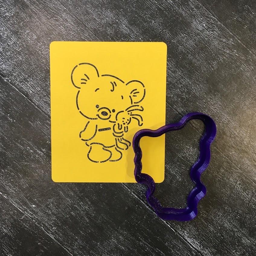 Мишка с зайкой №1