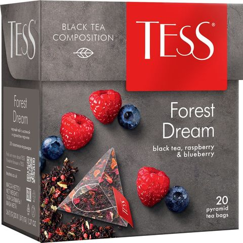 "Чай черный ""Tess"" forest dream 20 пирамидок"