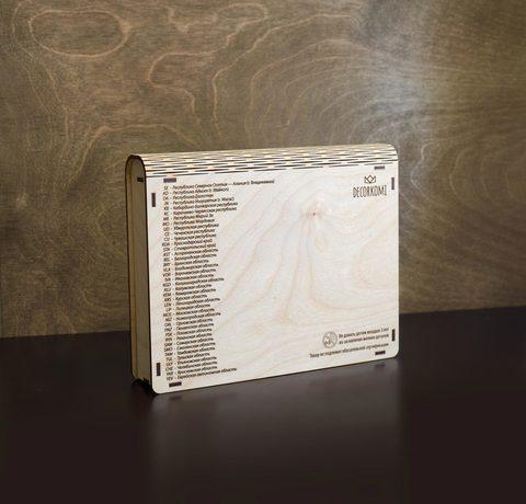 коробка для малой карты