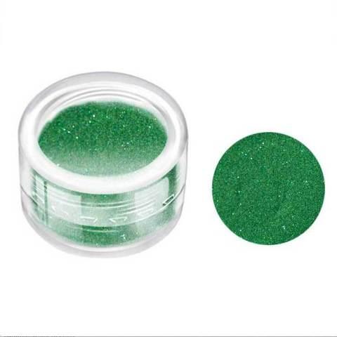 Блестки в банке 3 гр. мелкие Зелёный