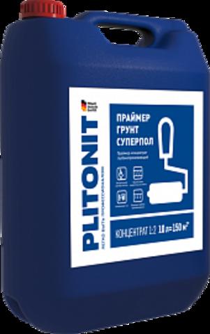 ПЛИТОНИТ ГРУНТ СУПЕРПОЛ Праймер-концентрат высокопроникающий для напольных работ