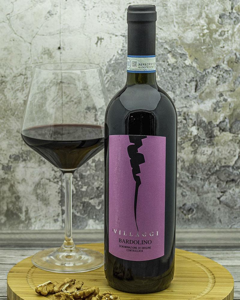 Вино Pirovano Вилладжи Бардолино Красное Сухое 12 % 0,75 л.