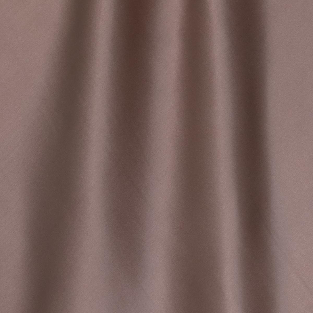 Шёлковый атлас с эластаном лилово-шоколадного цвета