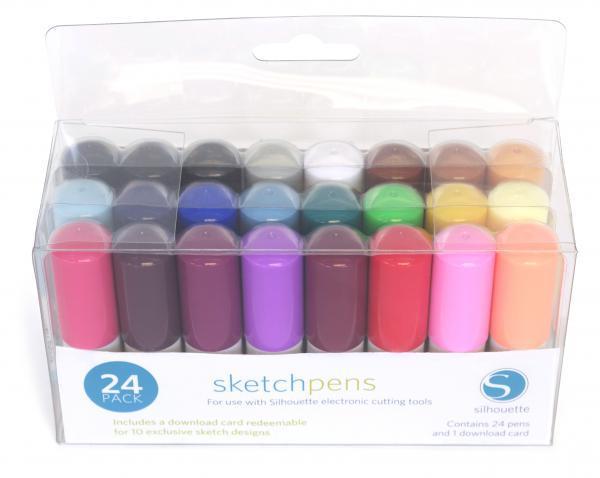 Комплект фломастеров для CAMEO 24 цвета