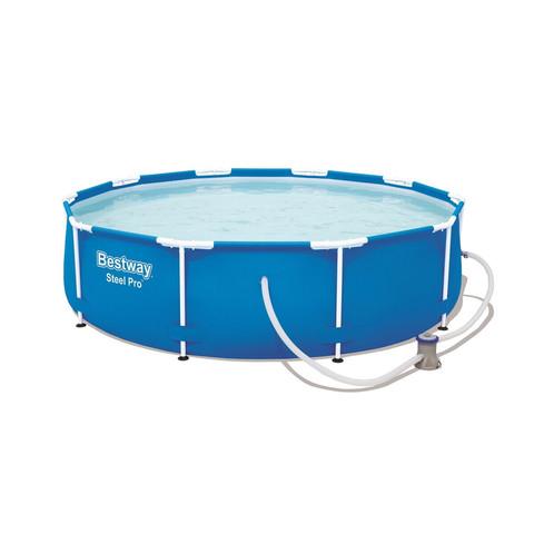 Каркасный бассейн Bestway 56681 (366х76 см) с картриджным фильтром / 22528