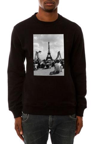 Свитшот Dope Paris черный фото