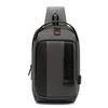 Однолямочный рюкзак  ARCTIC HUNTER XB00100 Серый USB