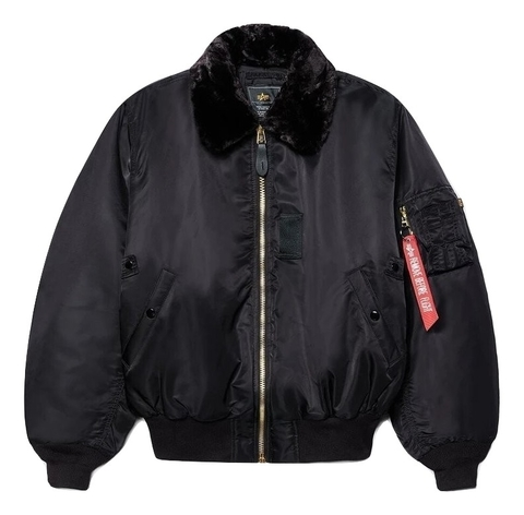 Куртка Alpha Industries B-15 Black (Черная)