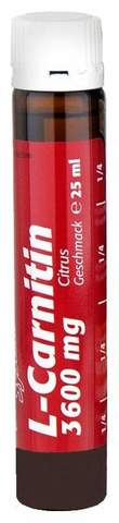 L-карнитин 3600 мг (вишня-ананас), АМПУЛЫ Пауэр Систем поштучно