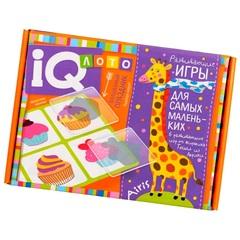 Пластиковое лото для малышей Волшебный праздник, подбери контур Айрис Пресс 27219