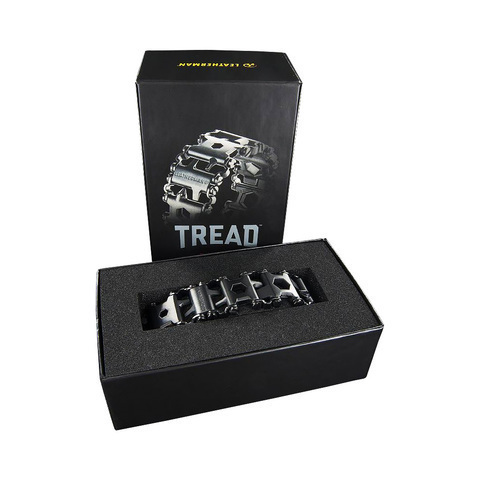 Мультитул-браслет Leatherman Tread поставляется в красивой упаковке | Multitool-Leatherman.Ru