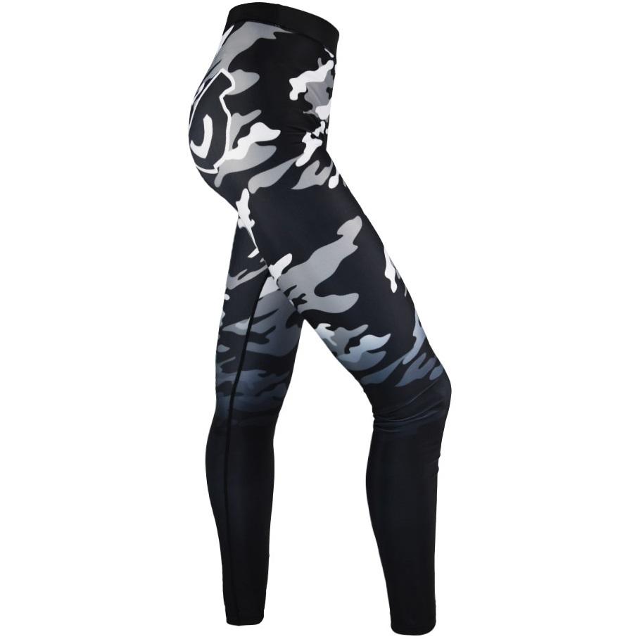Женские лосины Компрессионные штаны женские Bad Boy Eyes Black/Camo 1.jpg