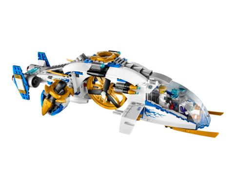 LEGO Ninjago: Штурмовой вертолет ниндзя 70724 — NinjaCopter — Лего Ниндзяго