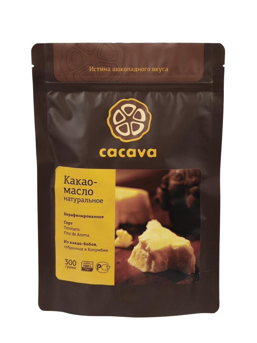 Какао-масло натуральное нерафинированное (Колумбия), упаковка 300 грамм