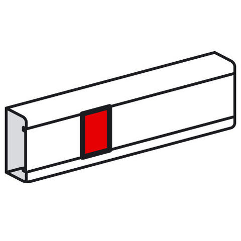 Кабель-канал 130/100/85x50 Накладка на стык крышки Для крышки шириной 75 мм. Цвет Белый. Legrand Metra (Легранд Метра). 638001