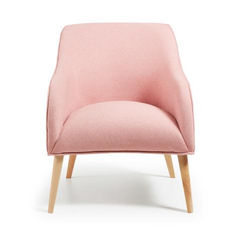 Кресло Lobby розовое